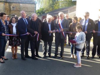 16- 5 - Inauguration Chauffage Ecole et Rue du Moulin neuf 26 10 2019