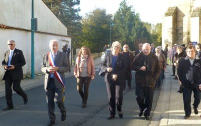 Inaugurations à l'école, de la rue du Moulin Neuf et hommage à M. Allain