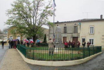 Cérémonie de la commémoration de l'armistice du 11 novembre