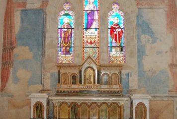 Fresques murales de l'église Saint-Pierre