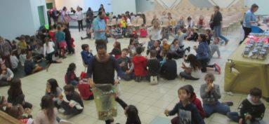 Le Père Noël avait rendez-vous avec les enfants à la salle des fêtes