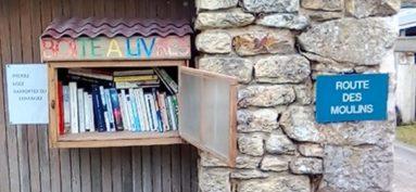 Une « boite à livres » au Gerzeau