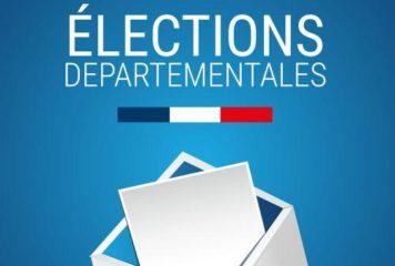 Arrêté élections départementales candidats sur le canton Saintonge Estuaire