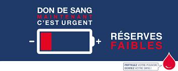 Don de sang : appel d'urgence à la mobilisation